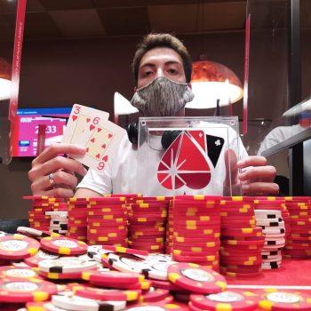 David Fanstein mendapatkan Experience 10K Marathon / Pokerlogia