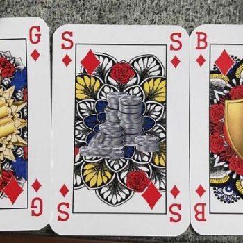 Mereka membuat setumpuk kartu pertama dari jenis kelamin / Pokerlogia netral