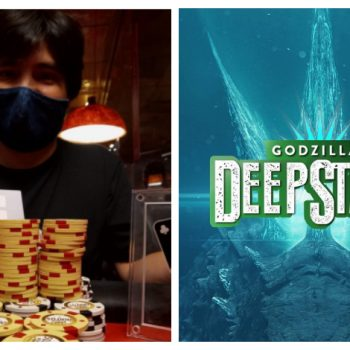 Cristian Díaz meraung seperti Godzilla di Madero / Pokerlogia