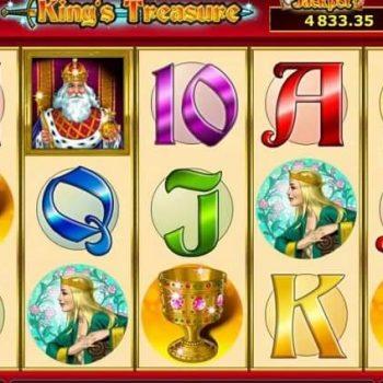 Nikmati gameplay sederhana dengan slot Novomatic Kings Treasure