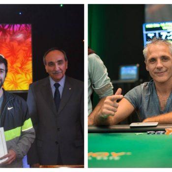 Lucas Landa dan Damián Salas naik podium di SCOOP 2021 / Pokerlogia