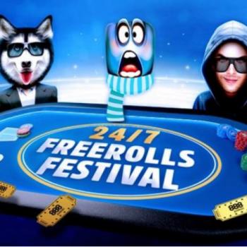 Memulai 888poker Festival Freerolls dengan hadiah $ 100K / PKL