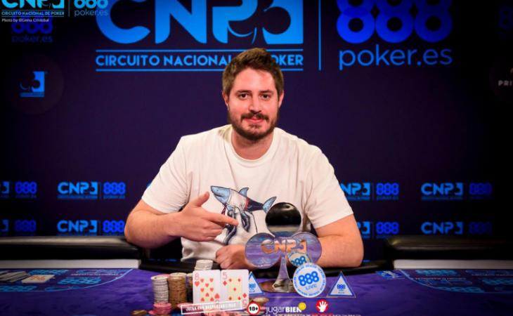 Carlos Sáez dinobatkan sebagai juara CNP di Madrid / Pokerlogia