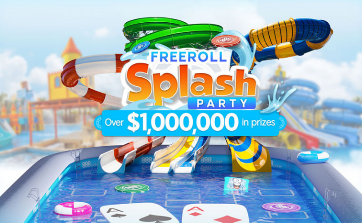 Freeroll Splash Party akan membagikan hadiah $1.000.000 / Pokerlogia