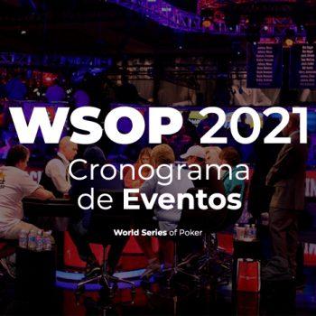 Lihat jadwal acara 88 WSOP 2021 / Pokerlogia