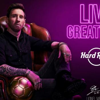 VIDEO;  Lionel Messi adalah wajah baru Hard Rock / Pokerlogia
