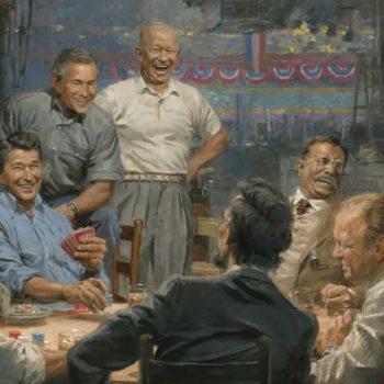 Pemimpin dunia dan pemain poker yang kuat