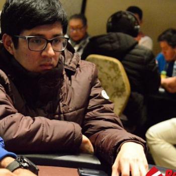 Diego Cuellar menempatkan bom dalam hidupnya di WCOOP 2021 / PKL